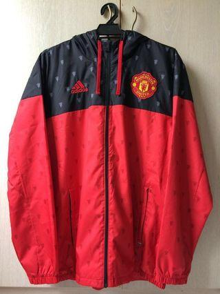 Adidas Manchester United FC Hoodie Windbreaker Jacket