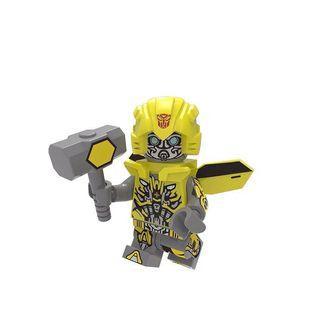 Transformers Movie Bumblebee Custom Bricks Not Lego Robots