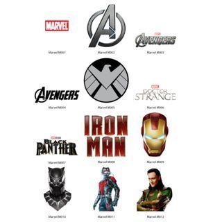 Mini Stickers - Marvels