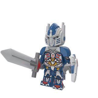 Transformers Movie Optimus Prime Custom Bricks Not Lego Robot