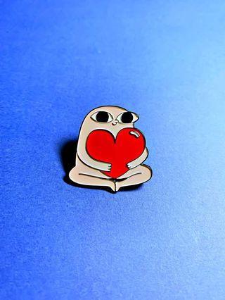 (Enamel Pin) Big Heart Ketnipz