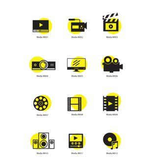 Mini Stickers - Media