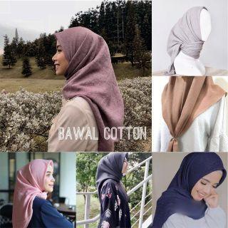 Clearance sale ‼️Tudung Bawal Cotton 1.0