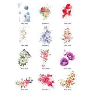 Mini Stickers - Plants