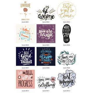 Mini Stickers - Quotes