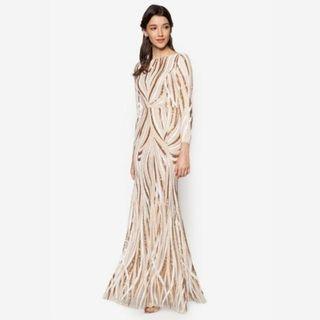 Zalia Mermaid Sequin Dress