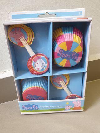 Peppa Pig Cupcake Decorating Set
