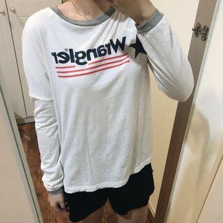 Wrangler Red Grey Shirt