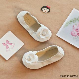 Flat Shoes Anak IMPORT CHANEL ROSE