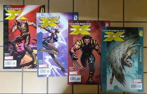 Ultimate Xmen - Issue 40,41,42,43 ( Marvel Comics )