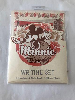 Minnie 信紙信封