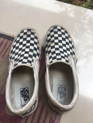 Vans og checkerboard