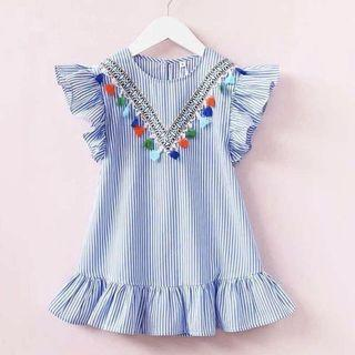 🚚 [1-2yo] Tassel boho dress