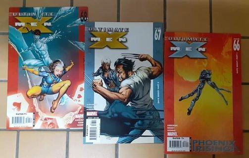 Ultimate Xmen - Issue 66,67,68,6  ( Marvel Comics )