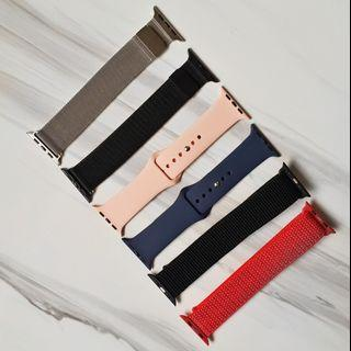 [READY STOCK] Apple Watch Bands Silicone,Nylon,Magnetic iWatch straps for Series 4, Series 3, Series 2, Series 1, 44mm/42mm/40mm/38mm