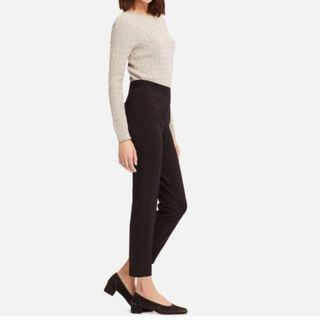 Uniqlo Ponte Slim Pants Black