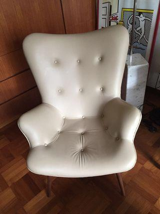 Designer full leather Armchair