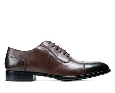 Leather Shoes Fredo Dark Brown