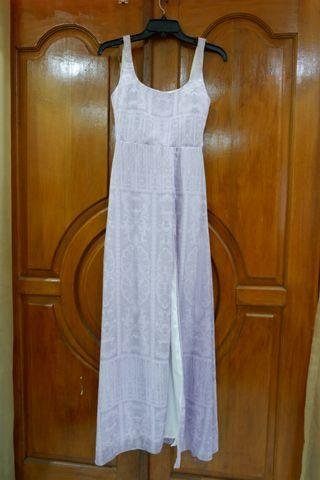 The bridal shop long dress
