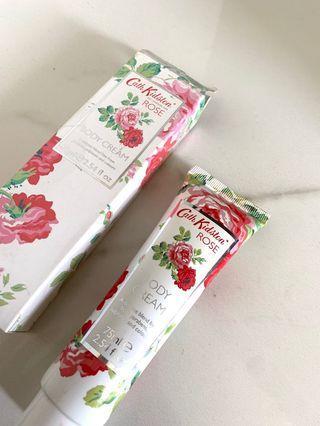 AUTHENTIC Cath Kidston Floral Body Cream