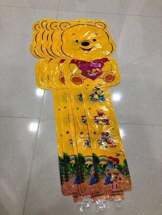Winnie the Pooh bear balloons 🎈