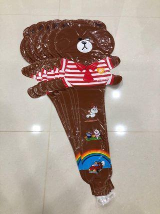 Line Bear Long handheld balloons 🎈
