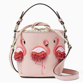 Flamingo Bucket Bag