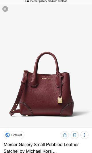 🚚 Michael Kors Mercer Medium Satchel