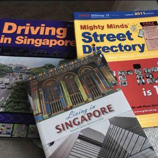 driving, directory, living in singapore books