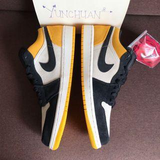 Air Jordan 1 Low Yellow Toe #MidValley
