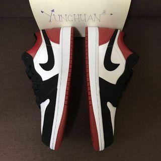 Air Jordan 1 Low Black Toe US10.5 #MidValley