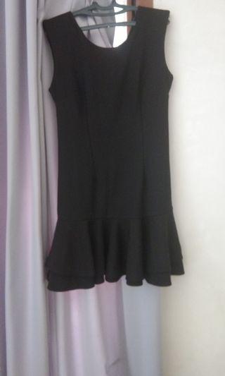 #mauvivo minidress black