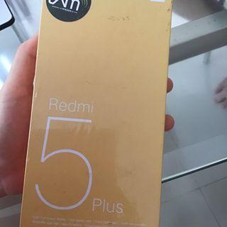 Redmi Xiaomi 5 plus warna BLACK