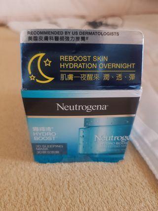 🚚 露得清Neutrogena 3D晚安保濕面膜 50g
