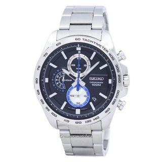 🚚 Seiko Chronograph Tachymeter Quartz SSB257 SSB257P1 SSB257P Men's Watch