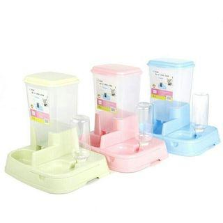 2 in 1 Auto Pet Food Water Feeder Dispenser