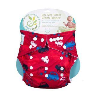 Reusable Diaper Babyleaf New One Size Suitable for Newborn S M L Boy Girl Unisex
