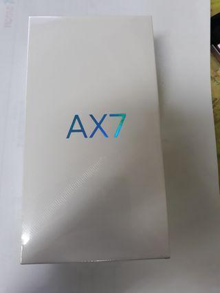 oppo AX7 4G/64G 耀光金 全新未使用