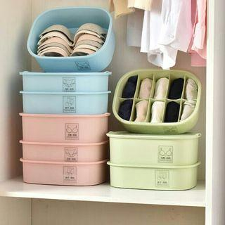 Underwear Storage Box Set (Set Of 3 Pcs)
