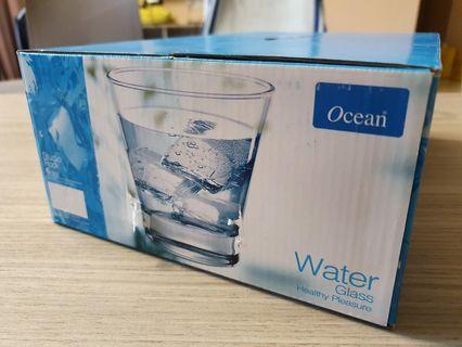 Ocean Water Glass Cups