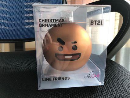 BT21 聖誕掛飾 - shooky