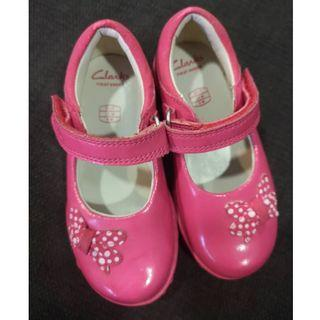 Clarks First Shoes Ella Star with Lights (Toddler Shoes)
