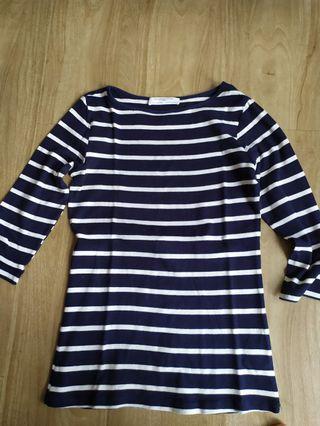 Zara stripe cotton
