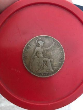 1920 penny