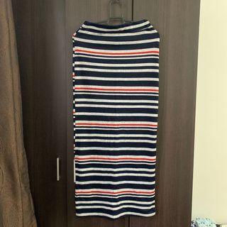Stripes / Pencil Skirt