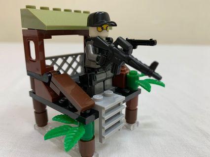沼澤兇鰐(兼容Lego)