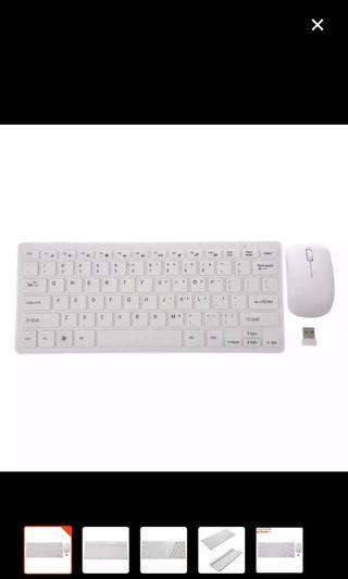 🚚 Wireless Keyboard And Mouse set