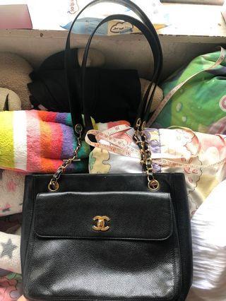 Chanel vintage bag 中古 85% new