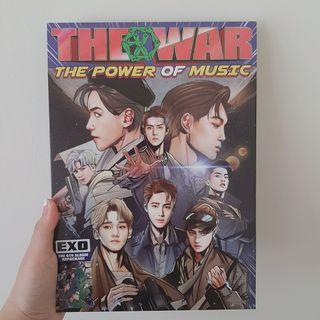 Album EXO The War Repackage