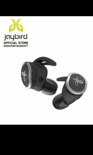 Jaybird RUN True Wireless Sports Earphones Gym Sweat proof water resistance